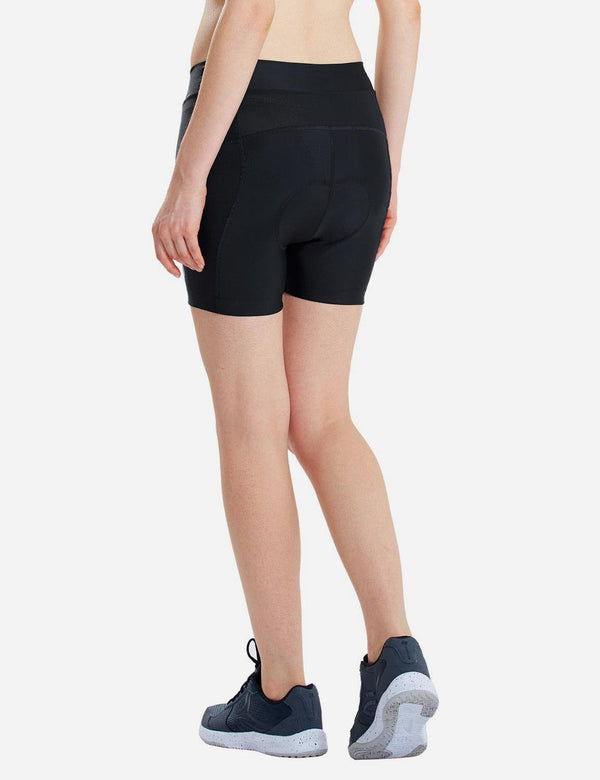 UPF 50+ 3D Padded Activewear Cycling Shorts