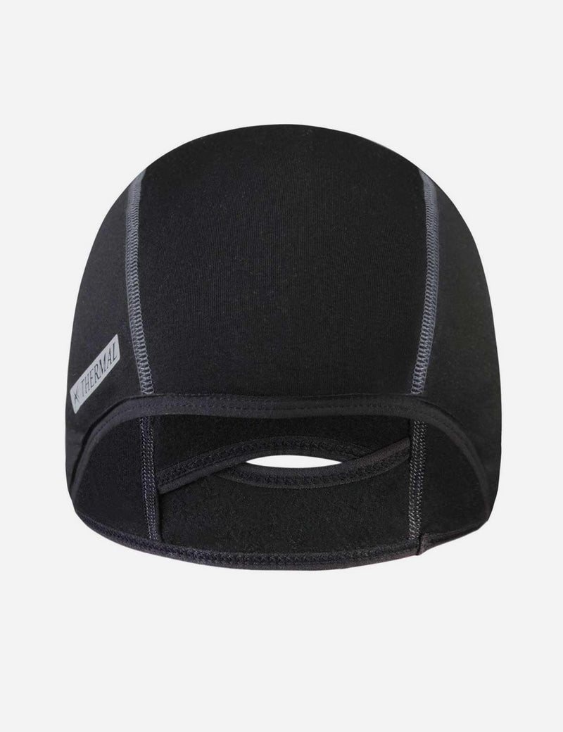 Baleaf Mens Thermal Cycling Cap black front