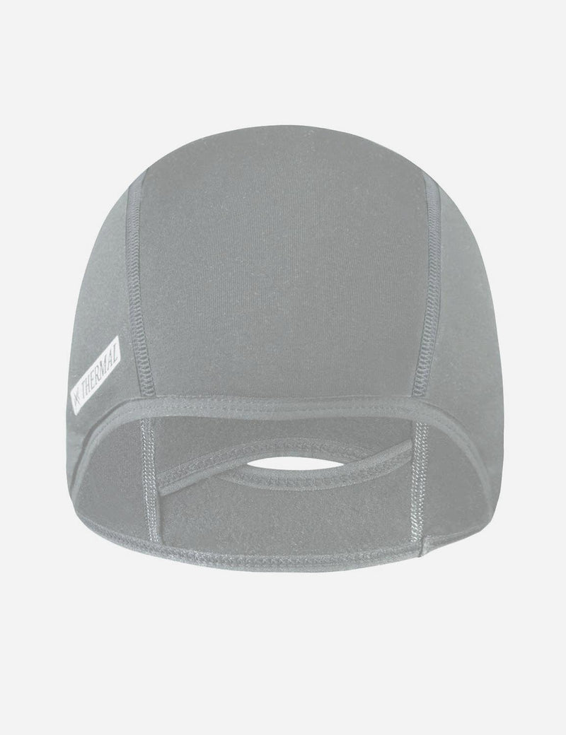 baleaf mens Thermal Cycling Cap gray front