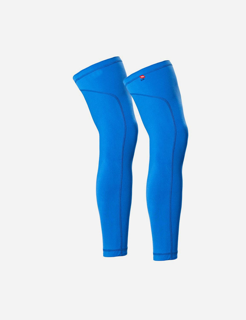 Baleaf Mens UPF 50+ Multi Functional Compression Leg Sleeves Blue Back
