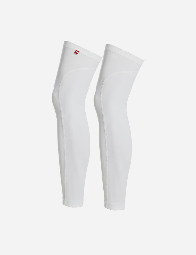 Baleaf Mens UPF 50+ Multi Functional Compression Leg Sleeves White Back