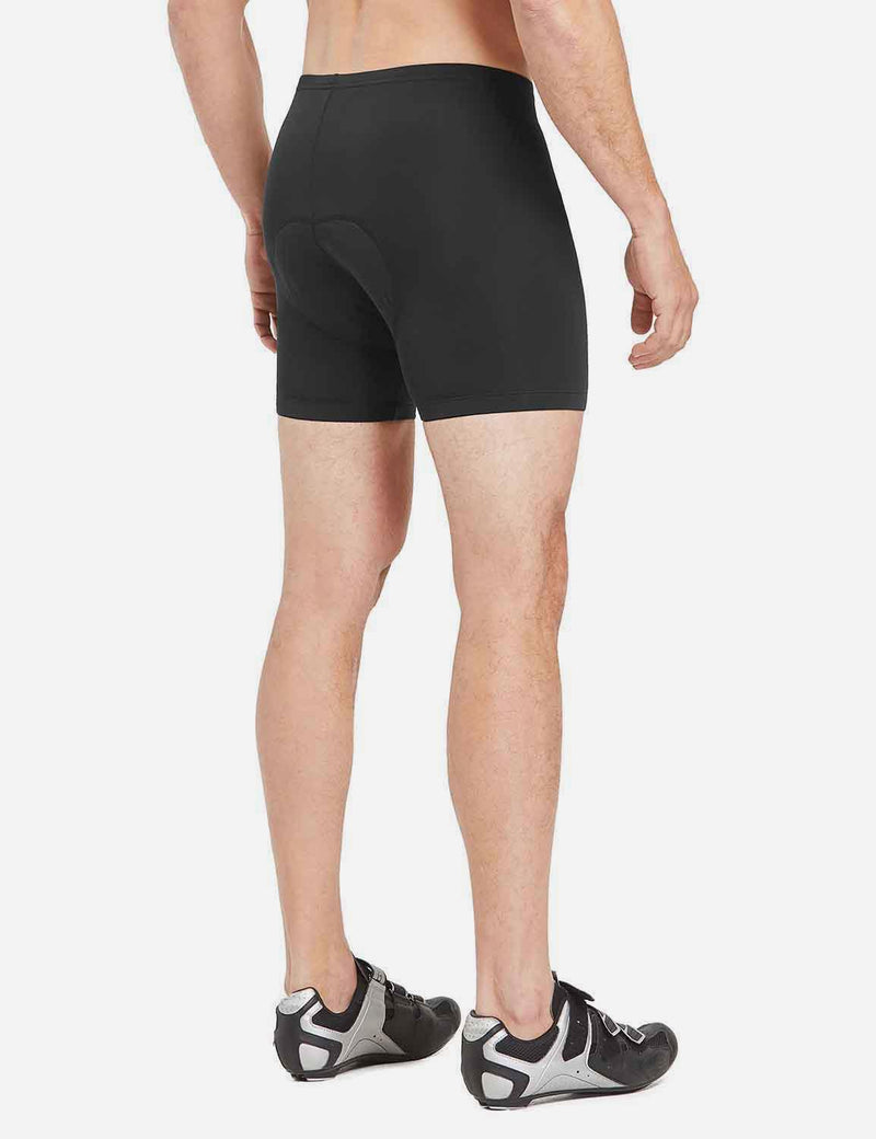 Baleaf Mens 3D Chamois Padded Compression Mountain Bike Shorts Black 2 pacl main side