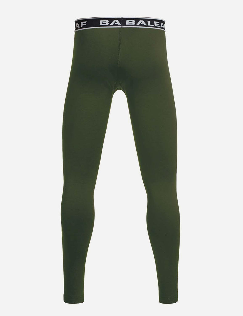 Baleaf Boys Basic Compression Tights royal blue back
