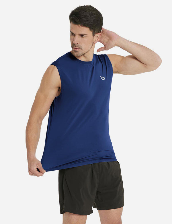 Quick-Dry Loose Fit Basic Tank Top