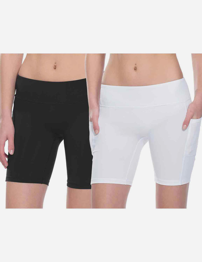 "7"" Side & Back Pocketed Running Shorts"