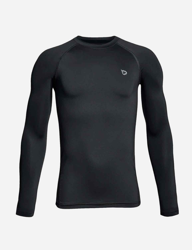 Compression Athletic T Shirt Long Sleeved Baselayer