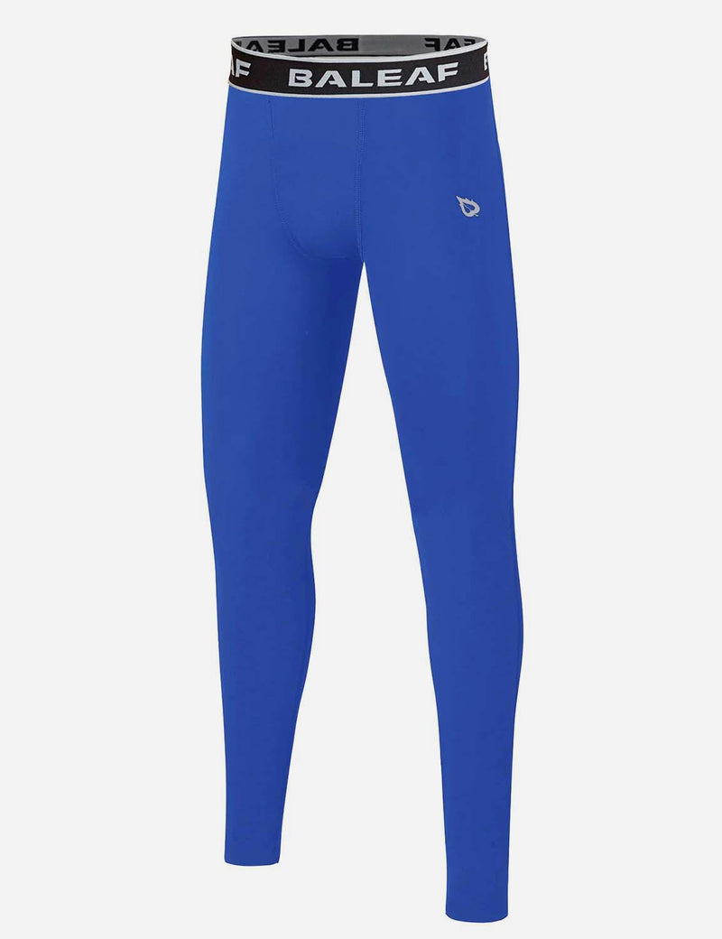 Boy's Basic Elastic Quick-Dry Compression Running Tights