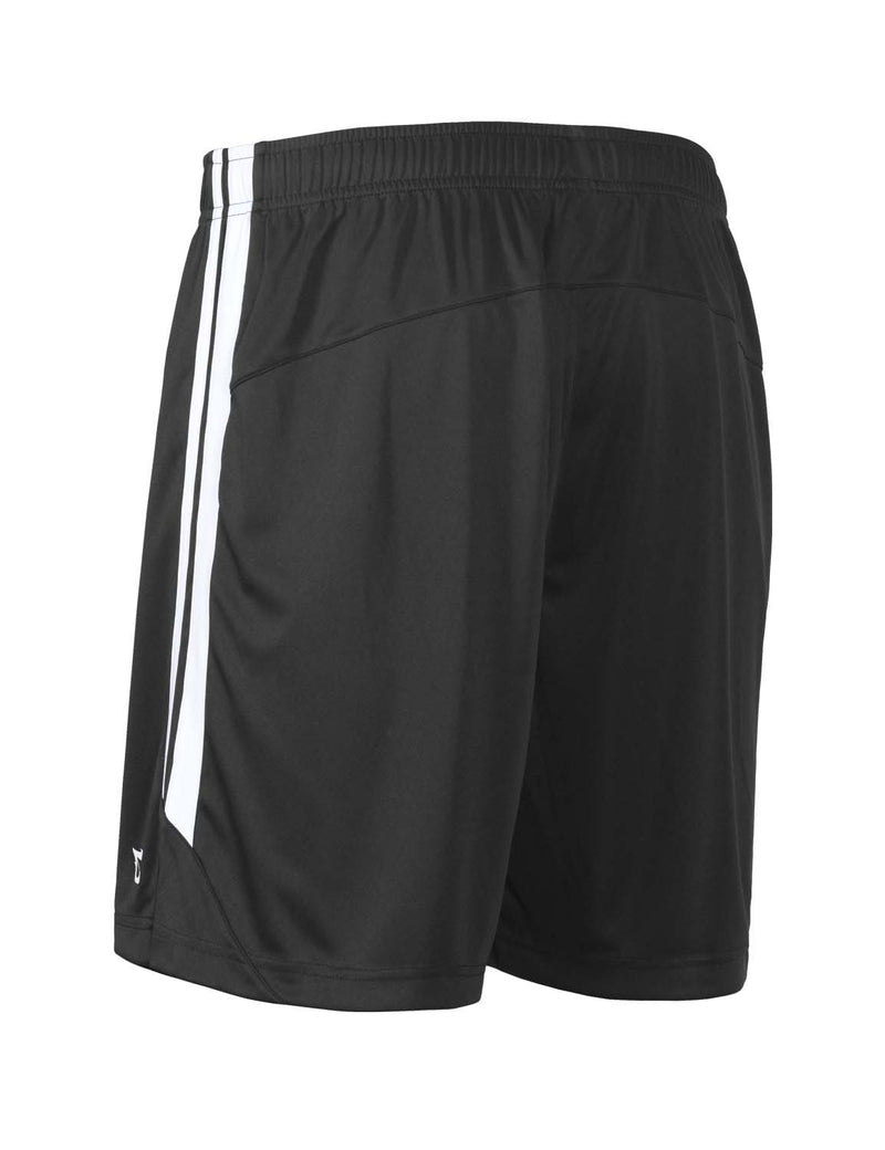 Baleaf Mens (2 Pack) UPF50+  Polyester Outdoor Sports & Workout Shorts Black side