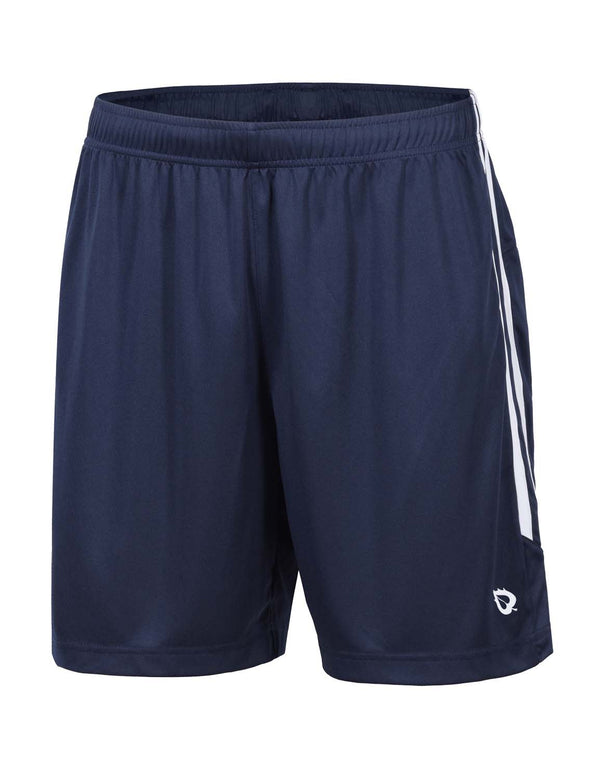 Baleaf Mens (2 Pack) UPF50+  Polyester Outdoor Sports & Workout Shorts Navy front