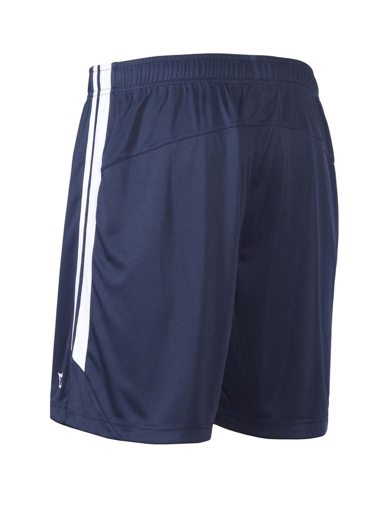 Baleaf Mens (2 Pack) UPF50+  Polyester Outdoor Sports & Workout Shorts Navy back