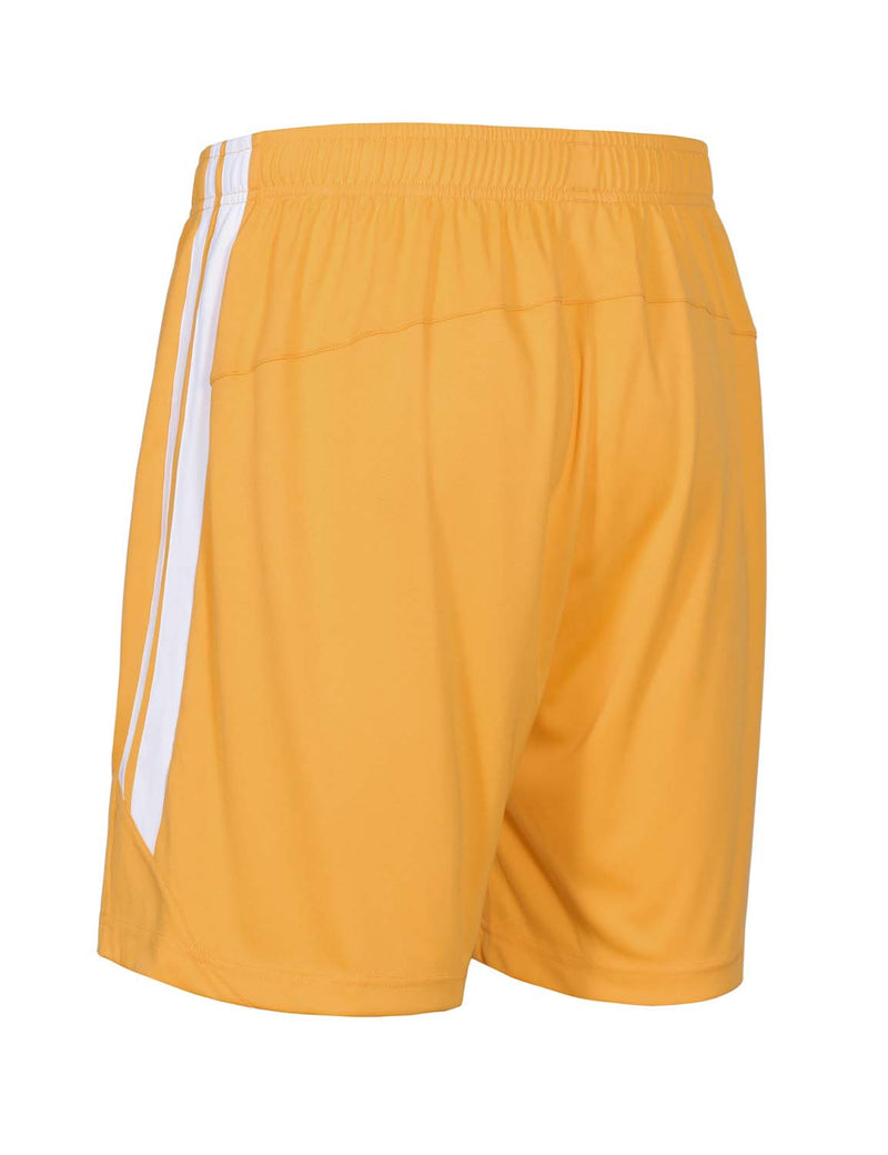 Baleaf Mens (2 Pack) UPF50+  Polyester Outdoor Sports & Workout Shorts Yellow back