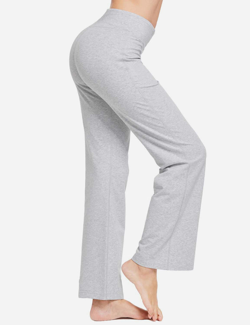 Baleaf Women 30 Tummy Control Basic Joggers Light Grayside