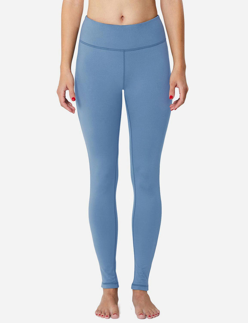 Baleaf Sports High-Rise Fleece Lined Leggings niagara back