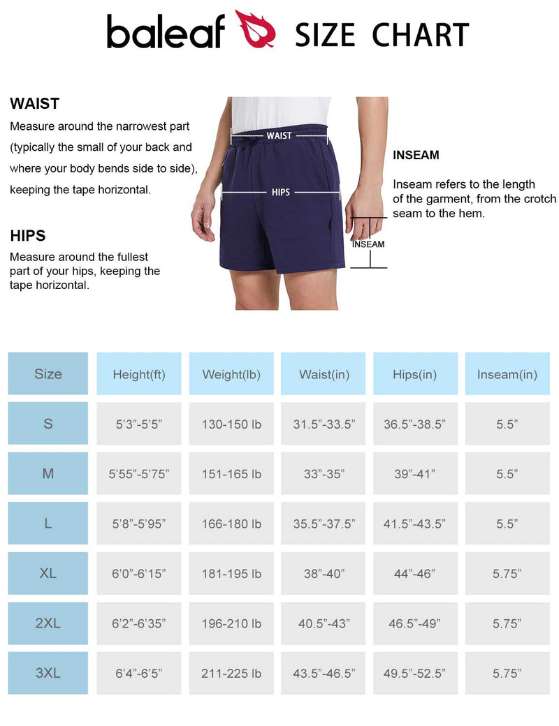 Baleaf Girls Basic Solid Color Side Pocketed Bootleg Capris size chart