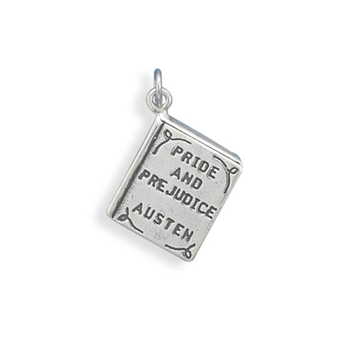 Pride and Prejudice Book Charm Sterling Silver