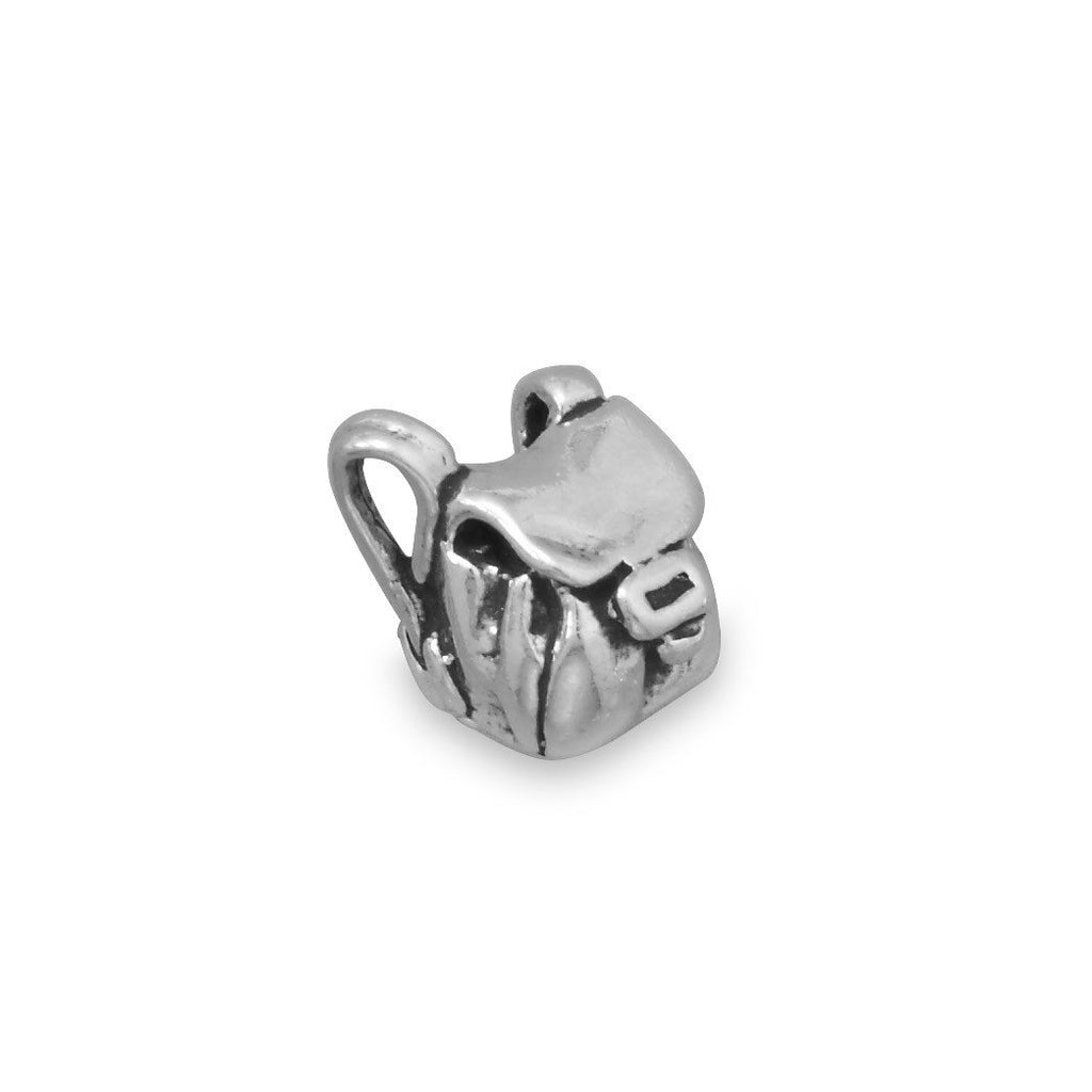 Backpack Charm Sterling Silver