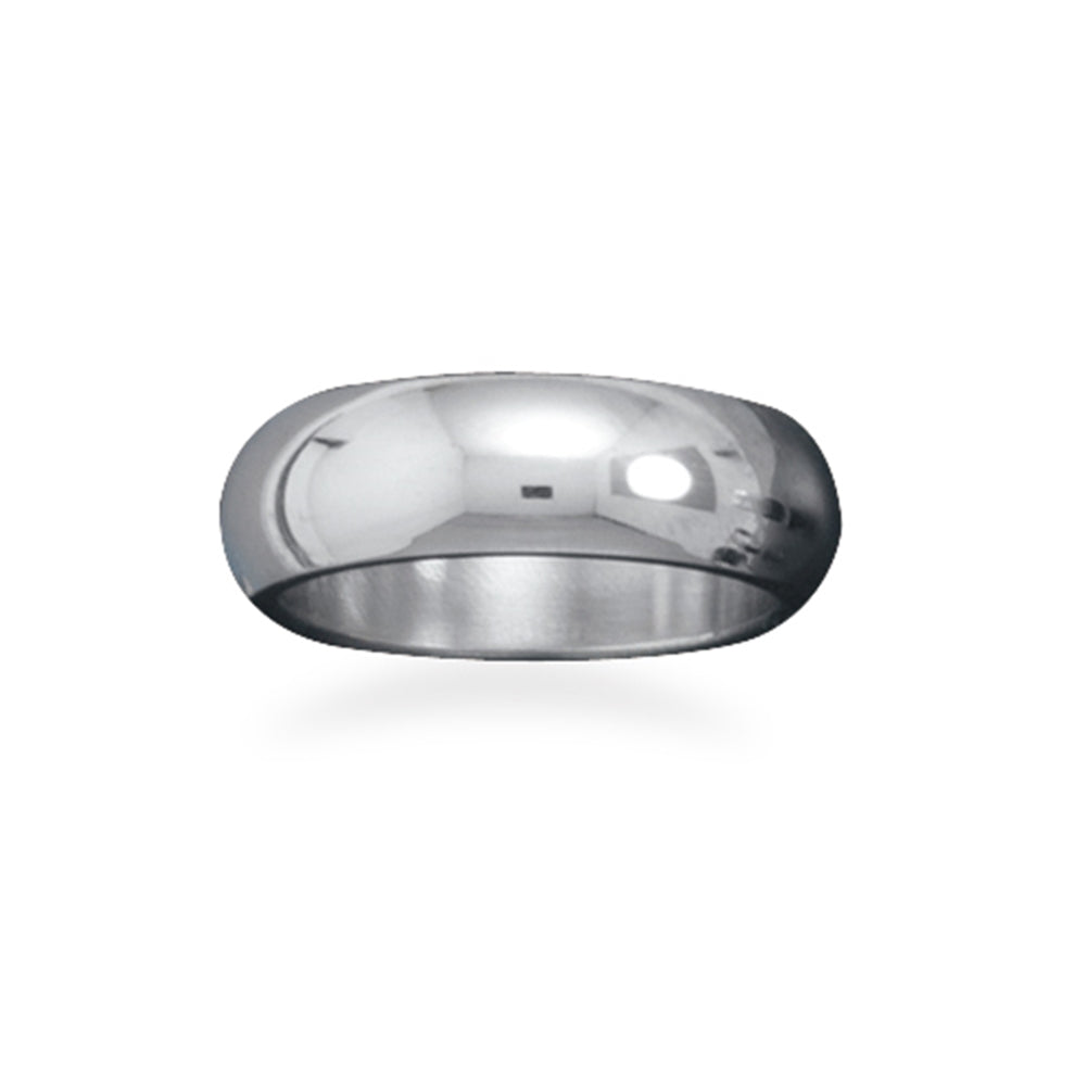 Stainless Surgical Steel 7mm Wide Band Ring Sizes 5 to 13 Mens Womens