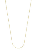 14k Yellow Gold Anchor Chain 030 Gauge 0.95mm Wide