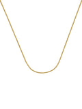 14k Yellow Gold Rolo Chain Necklace 1.5mm 040 Gauge
