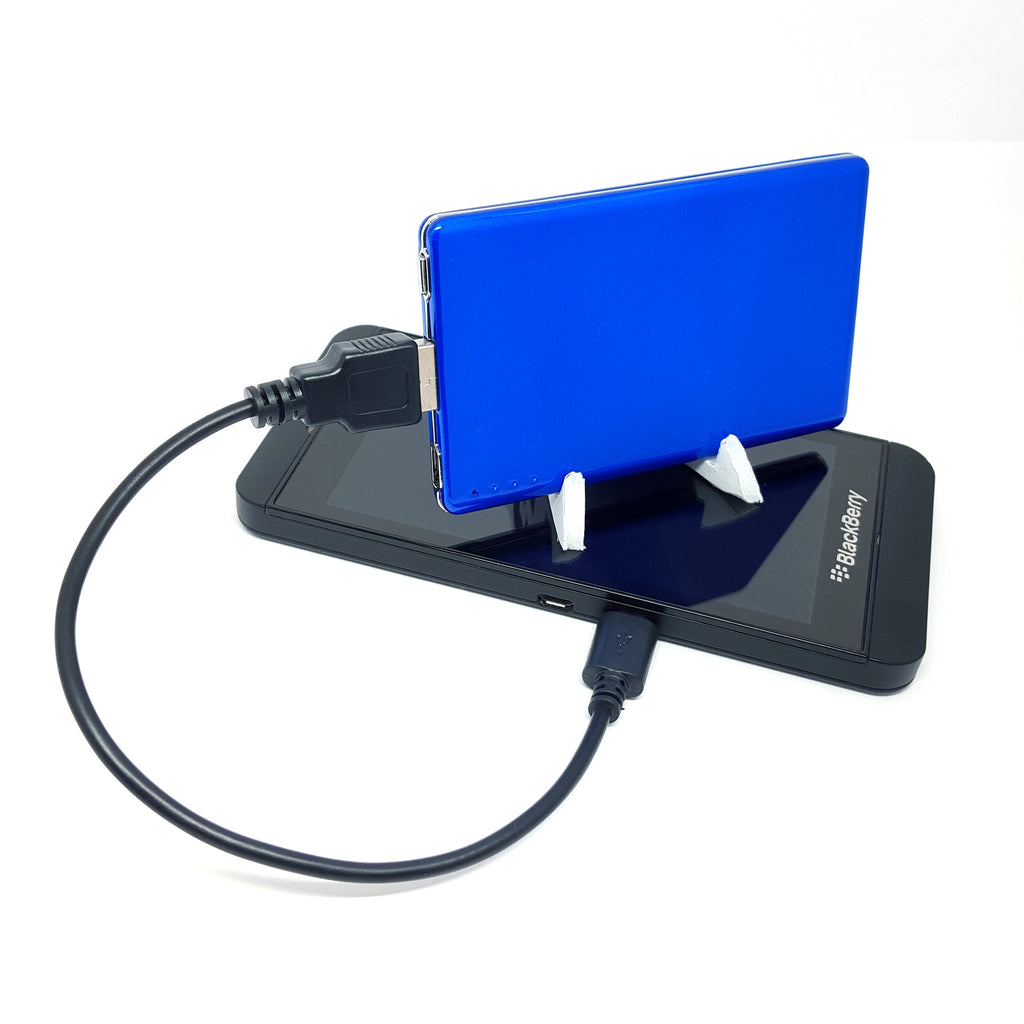 Name Card 2200 mAh Phone Charger (Power Bank)