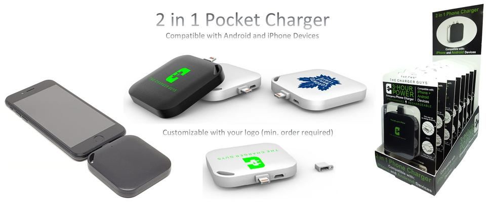 2 in 1 Pocket Charger