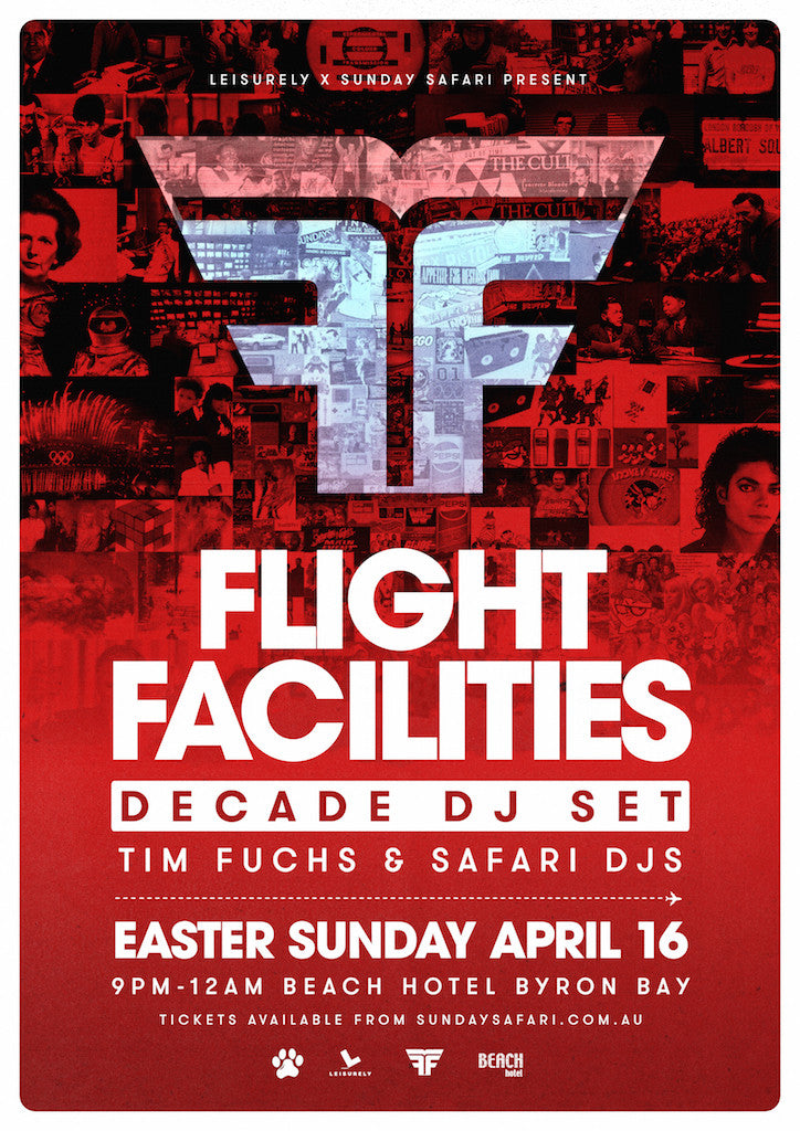 Flight Facilities just announced!