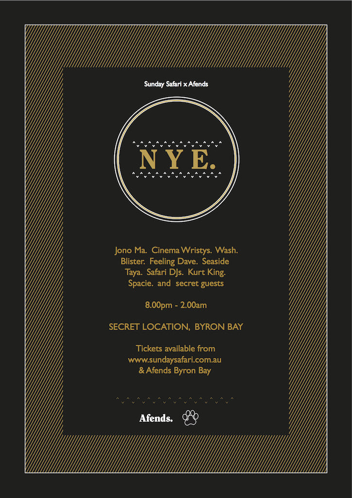 Sunday Safari x Afends NYE