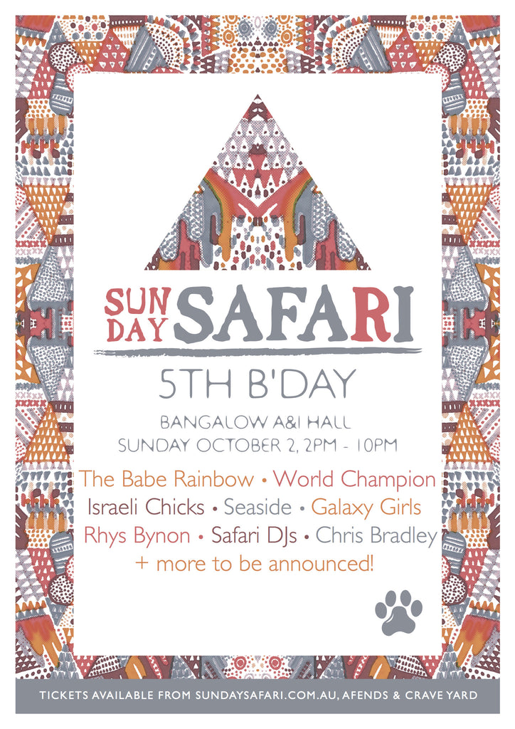 Sunday Safari 5th Birthday