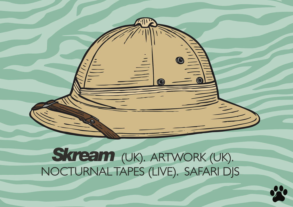 Skream is coming on Safari!