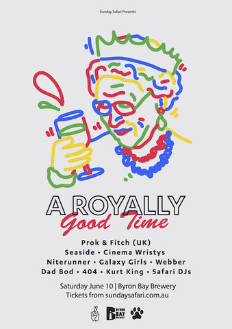 Royally Good Time tickets on sale now!