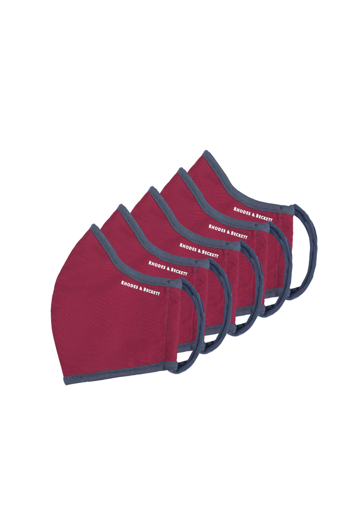 BURGUNDY - THE COMMUNITY MASK (5 PACK)
