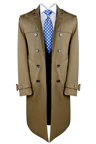 Camel Nautico Trench Coat