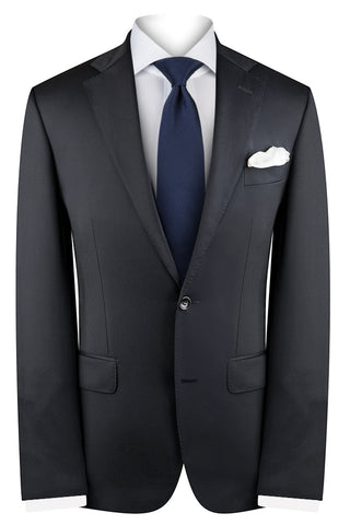 French Navy Twill Suit