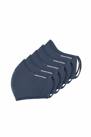 NAVY - THE COMMUNITY MASK (5 PACK)