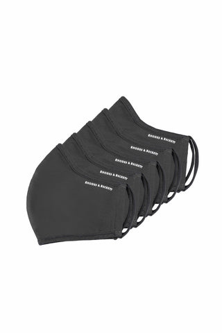 BLACK - THE COMMUNITY MASK (5 PACK)