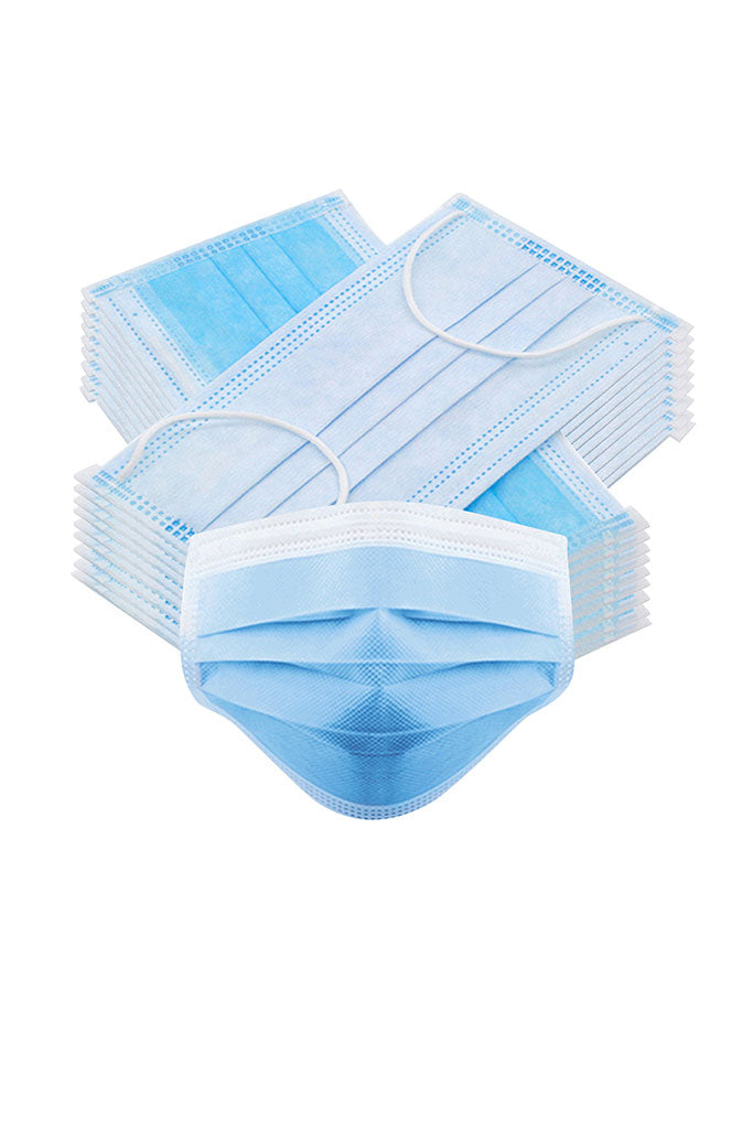 3 BOXES - 3 Ply Disposable Face Masks (150 Masks)