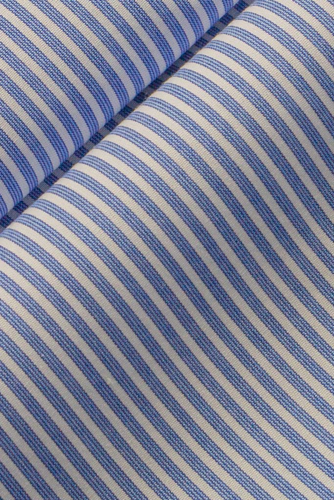 Blue Textured Stripe