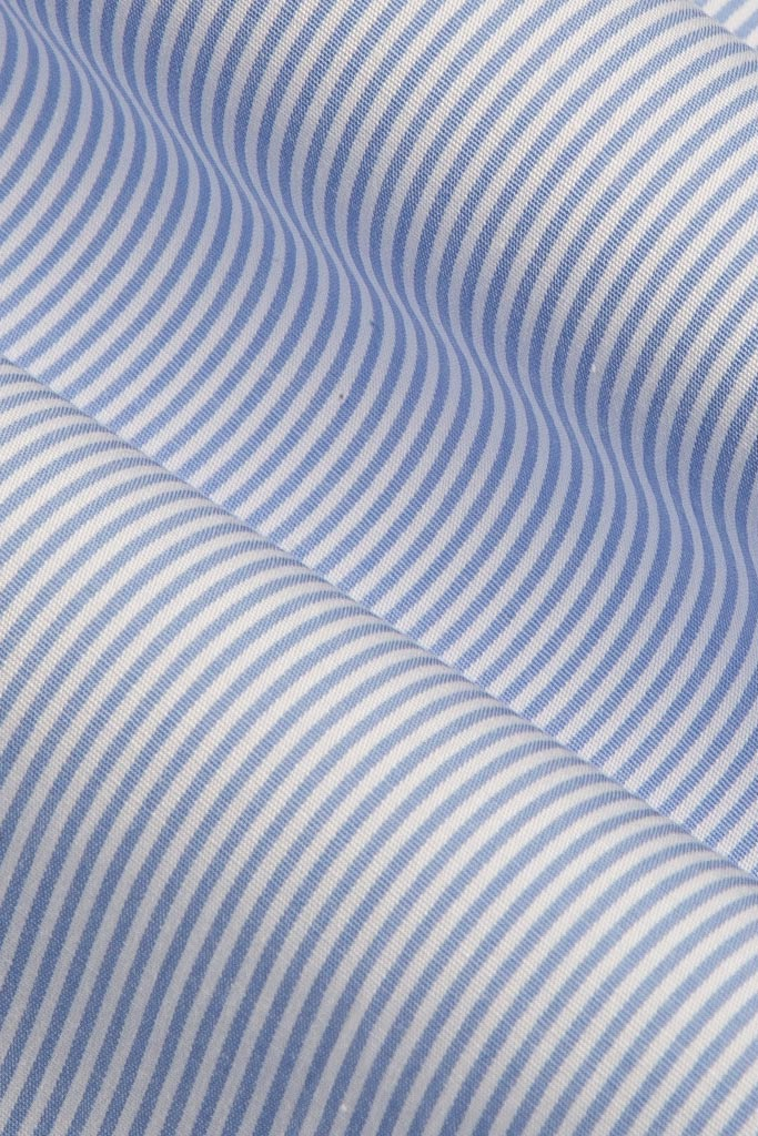 Blue Fine Stripe
