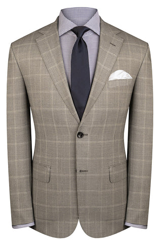 Grey Puppytooth Check Suit