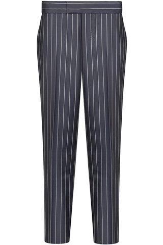 Navy Luxury Stripe Double Breasted Suit