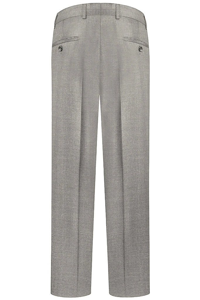 Light Grey Modern Twill Suit