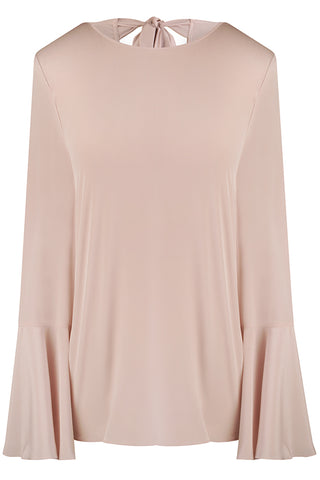 Light Pink Luisa Silk Crepe de Chine