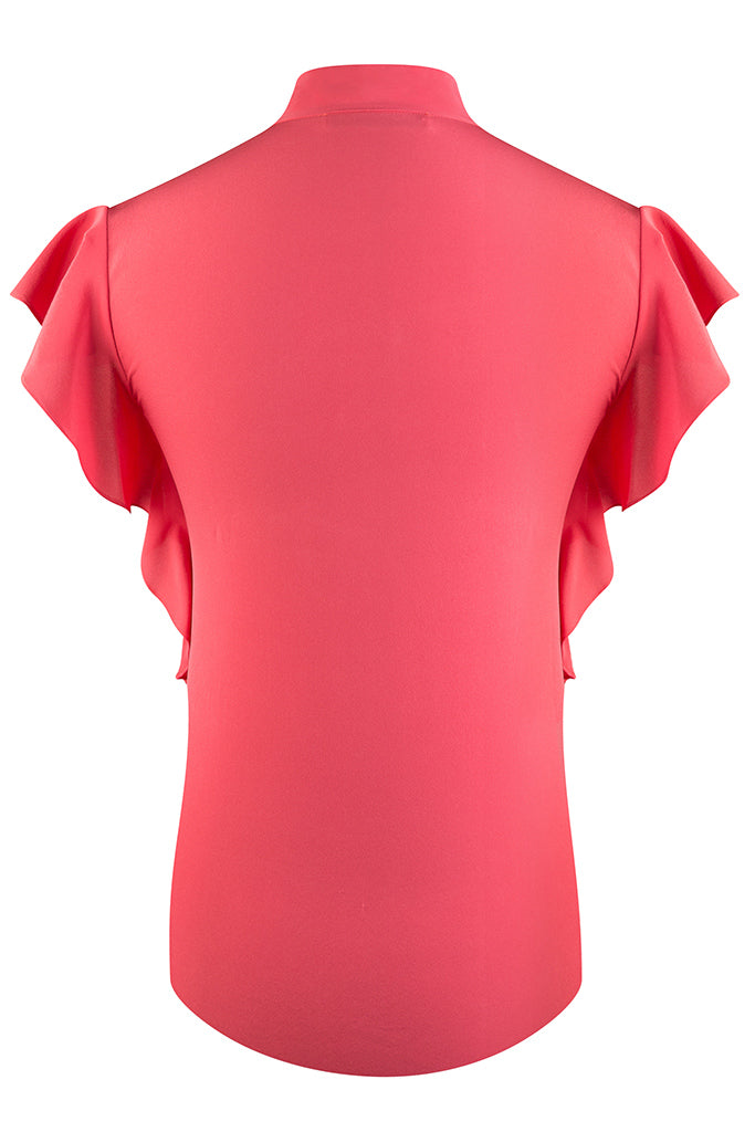 Pink April Silk Crepe de Chine