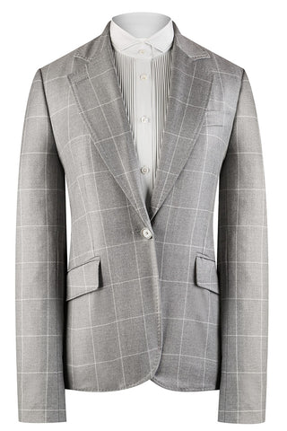 Mid Grey Window Check Jacket