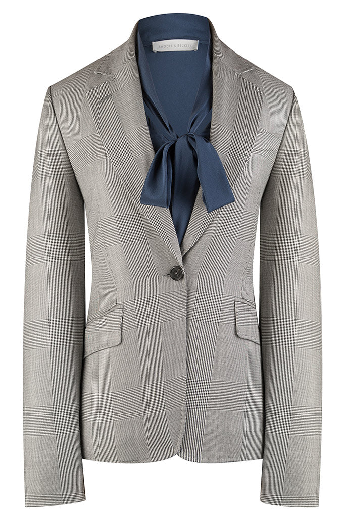 Salt & Pepper Prince of Wales Check Jacket
