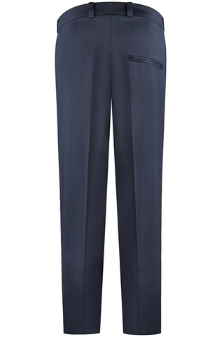 Navy Stretch Crepe Pants
