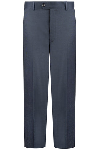 Loro Piana Blue Pindot Luxury Trousers