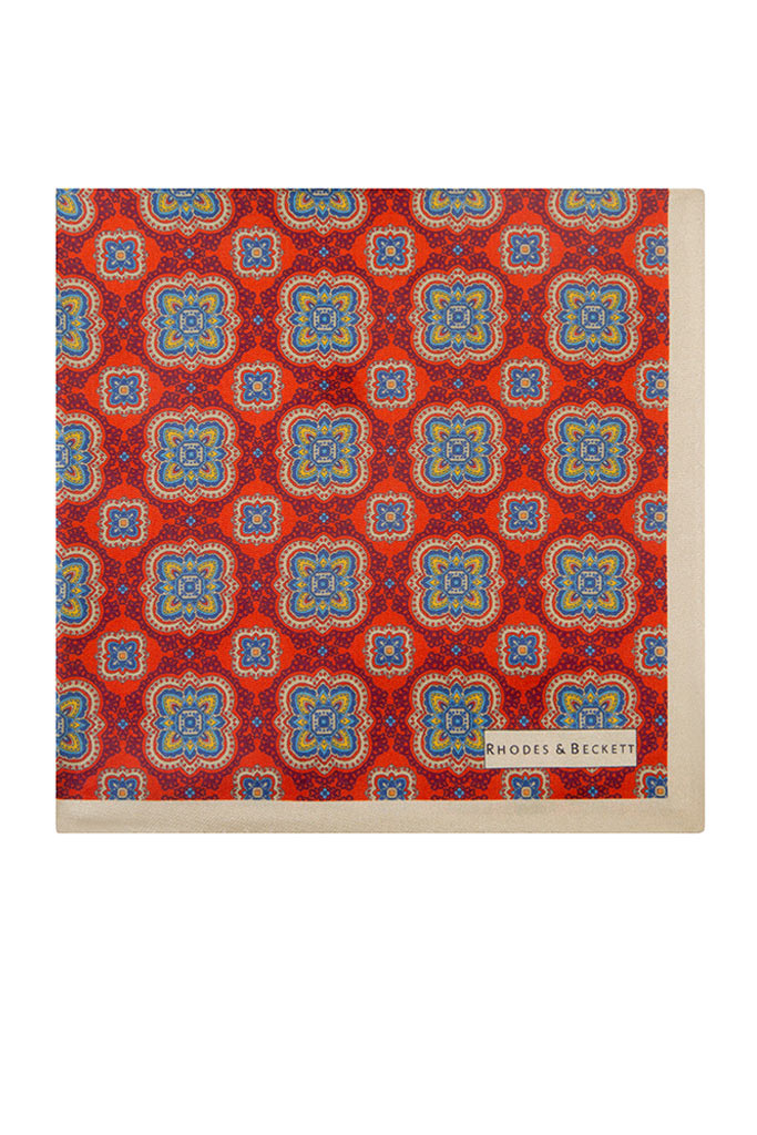 Orange Decorative Motif
