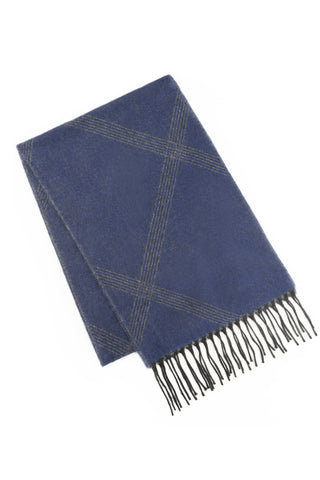 Techtonic Over Check Scarf