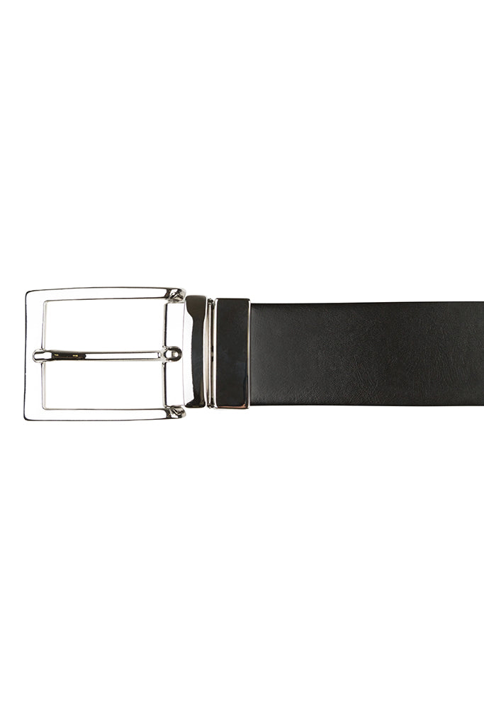 Black & Brown Reversible Leather Belt